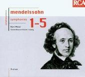 Mendelssohn: The 5 Symphonies de Kurt Masur