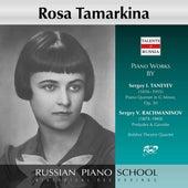 Taneyev & Rachmaninoff: Works by Rosa Tamarkina