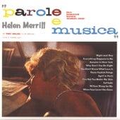 Parole E Musica/Different Artwork von Helen Merrill