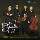 Schubert : String Quartets No.13, 'Rosamunde' & No.14, 'Death and the Maiden' by Endellion String Quartet