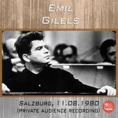 Live in Salzburg, 11.08.1980 de Emil Gilels
