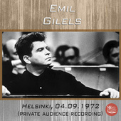 Live in Helsinki, 04.09.1972 de Emil Gilels