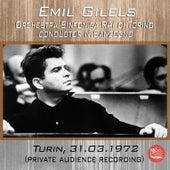 Live in Turin, 31.03.1972 de Emil Gilels