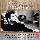 Live in Chicago, 06.02.1958 fra Emil Gilels