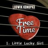 Little Lucky Girl by Ludwik Konopko