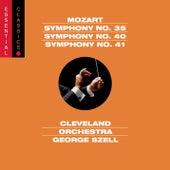 Mozart: Symphonies Nos. 35, 40 & 41 by George Szell