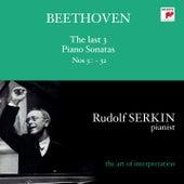 Beethoven: The Last 3 Piano Sonatas von Rudolf Serkin