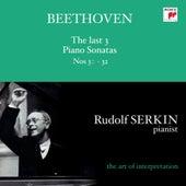 Ludwig van Beethoven (1770-1827) - Sonates pour piano N° 30 - 31 - 32 von Rudolf Serkin