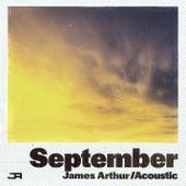 September (Acoustic) de James Arthur