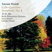 Antonin Dvorak - Cello Concerto, Symphony No. 8 von Claudio Abbado