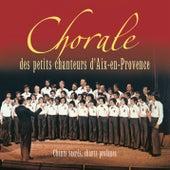 Chants sacrés, chants profanes de Les petits chanteurs d'Aix en Provence