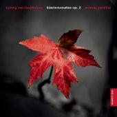 Beethoven Sonaten 1, 2, 3 von Murray Perahia