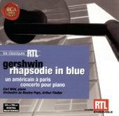 Gershwin: Rhapsodie In Blue, Un Américan + Paris, Concerto Pour Piano von Arthur Fiedler