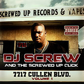 7717 Cullen Blvd. - Volume 1 by DJ Screw