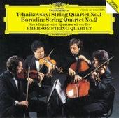 Tchaikovsky: String Quartet No.1 / Borodin: String Quartet No.2 by Emerson String Quartet
