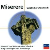 Miserere - Geistliche Chormusik von Various Artists