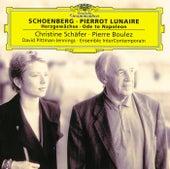 Schoenberg: Pierrot Lunaire; Herzgewächse; Ode to Napoleon de Christine Schäfer