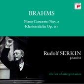 Brahms: Piano Concerto No. 2, Op. 83 & 4 Klavierstücke, Op. 119 von Rudolf Serkin