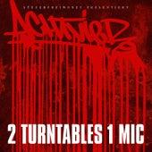 2 Turntables 1 Mic von AchtVier