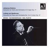 Brahms: Violin Concerto in D Major, Op. 77 - Beethoven: Piano Concerto No. 3 in C Minor, Op. 37 (Live) de Wolfgang Schneiderhan