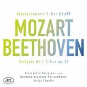Mozart: Piano Concerto No. 19 in F Major, K. 459 - Beethoven: Symphony No. 1 in C Major, Op. 21 de Alessandro Deljavan