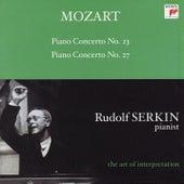 Mozart: Piano Concertos Nos. 23 & 27 [Rudolf Serkin - The Art of Interpretation] von Rudolf Serkin, Columbia Symphony Orchestra, Alexander Schneider