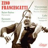 Zino Francescatti plays Lalo & Vieuxtemps by Zino Francescatti