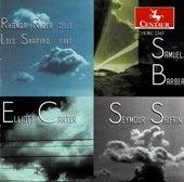 Carter, Barber & Shifrin: Cello Sonatas by Rhonda Rider