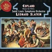 Copland: Music For Films von Leonard Slatkin