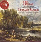 Elgar: Enigma Variations/Cockaigne & Froissart Overtures von Leonard Slatkin