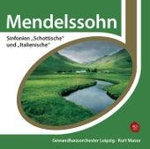 Mendelssohn: Sinfonien Nr. 3 & 4 de Kurt Masur