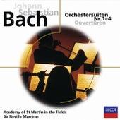 Bach: Orchestersuiten Nr.1-4 by William Bennett