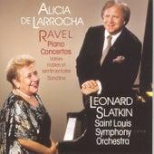 Ravel: Two Piano Concertos von Alicia De Larrocha