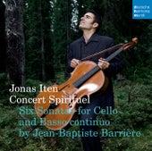 Barrière: Six Sonatas For Cello and Basso Continuo de Jonas Iten