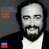 Pavarotti singt Verdi von Luciano Pavarotti