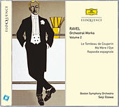 Ravel: Orchestral Works Vol.2 by Boston Symphony Orchestra
