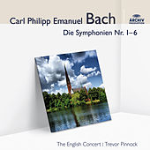 Bach, C.P.E.: Symphonies for Strings 1-6 by The English Concert