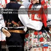 Brahms Ungarische Tänze, Dvorak Slawische Tänze de Gewandhausorchester Leipzig