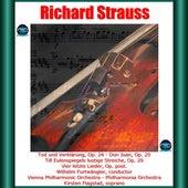 Richard Strauss: Tod und Verklärung, Op. 24 - Don Juan, Op. 20 - Till Eulenspiegels lustige Streiche, Op. 28 - Vier letzte Lieder, Op. post. by Kirsten Flagstad