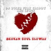 Broken Soul Slowed (feat. Calboy & Lewie) by DJ Ruler
