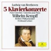 Beethoven: 5 Piano Concertos von Wilhelm Kempff