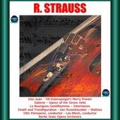 Richard Strauss: Don Juan - Till Eulenspiegels lustige Streiche - Salome - Dance of the Seven Veils - Le Bourgeois Gentilhomme - Intermezzo -Death and Transfiguration -Der Rosenkavalier - Waltzes de Otto Klemperer