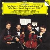 Beethoven / Schubert: String Quartets by Emerson String Quartet
