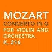 Mozart: Concerto in G, K.216 von Susanna Yoko Henkel
