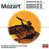 Mozart: Sinfonien Nr.31, 32, 34 & 35 de Academy Of St. Martin-In-The-Fields