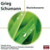Schumann, Grieg: Klavierkonzerte von Claudio Arrau