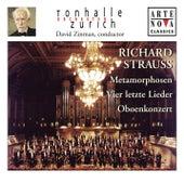 Richard Strauss: Vier letzte Lieder; Metamorphosen; Oboenkonzert von David Zinman