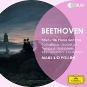 Beethoven: Favourite Piano Sonatas - Pathétique; Moonlight; Tempest; Waldstein; Appassionata; Les Adieux von Maurizio Pollini