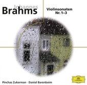 Brahms, Violinsonaten Nr. 1-3 de Pinchas Zukerman