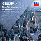 Gershwin: Rhapsody in Blue; Piano Concerto; An American in Paris von André Previn